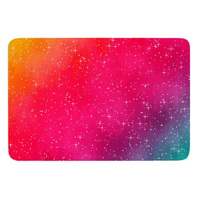 Colorful Constellation by Fotios Pavlopoulos Bath Mat Size: 17W x 24L