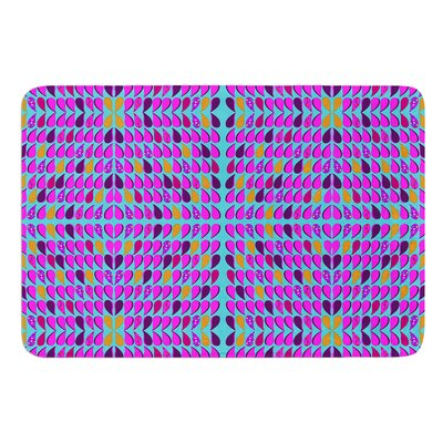 Optical Paisley by Fernanda Sternieri Bath Mat Size: 24 W x 36 L