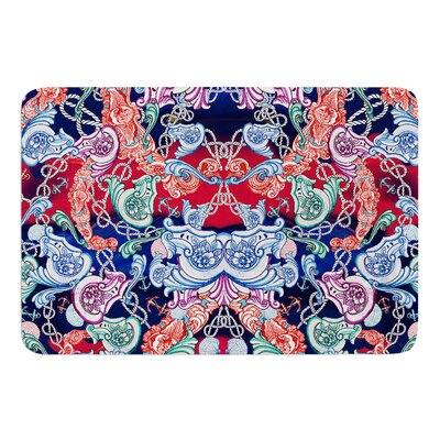 Barroque Sea by Fernanda Sternieri Bath Mat Size: 24 W x 36 L
