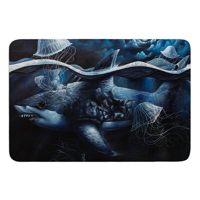 Invictus by Graham Curran Bath Mat Size: 17W x 24L