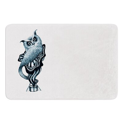 Owl by Graham Curran Bath Mat Size: 24 W x 36 L