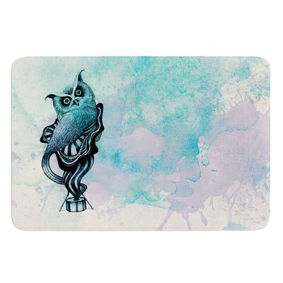 Owl II by Graham Curran Bath Mat Size: 17W x 24L