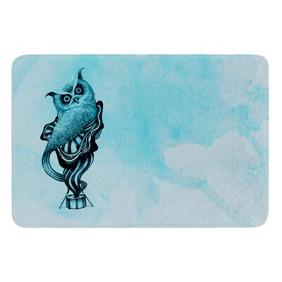 Owl III by Graham Curran Bath Mat Size: 24 W x 36 L