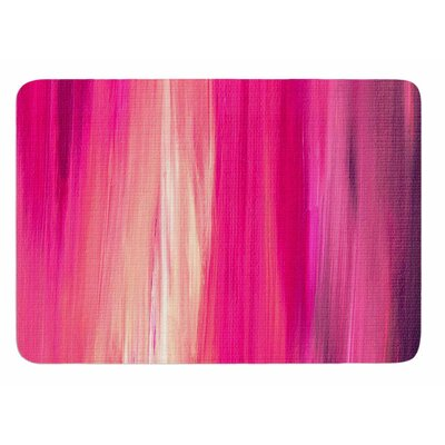 Irradiated Fuchsia by Ebi Emporium Bath Mat