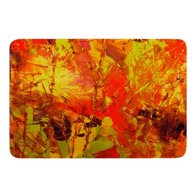 Autumn by Jeff Ferst Bath Mat Size: 17 W x 24 L