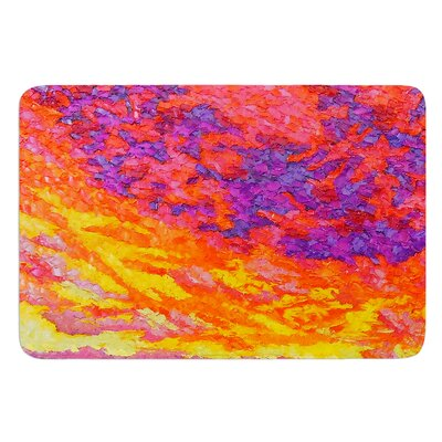 View From the Foothills by Jeff Ferst Bath Mat Size: 17 W x 24 L