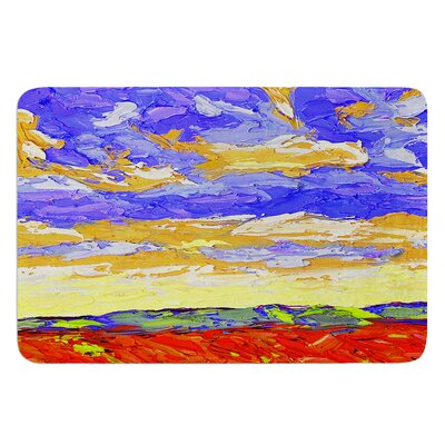 After the Storm by Jeff Ferst Bath Mat Size: 24 W x 36 L