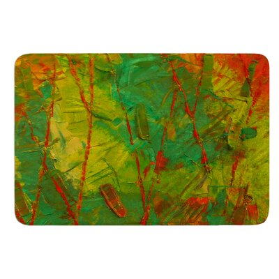 Evergreens by Jeff Ferst Bath Mat Size: 17 W x 24 L
