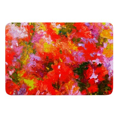 Summer Garden by Jeff Ferst Bath Mat Size: 24 W x 36 L