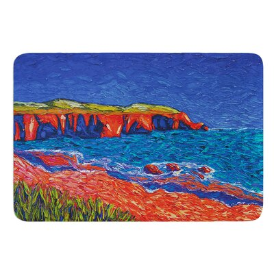 Sea Shore by Jeff Ferst Bath Mat Size: 17 W x 24 L