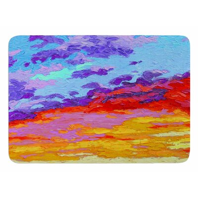 Dancing Clouds by Jeff Ferst Bath Mat