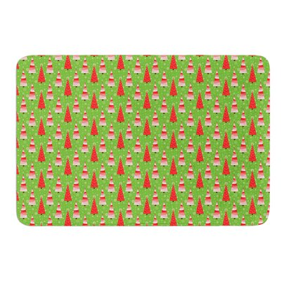 Juniper by Julie Hamilton Bath Mat Size: 24 W x 36 L