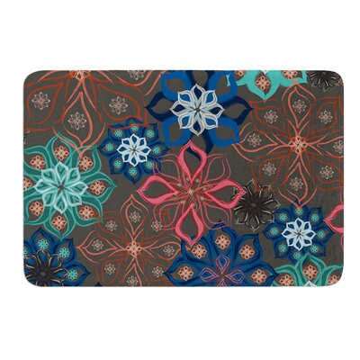 Floral Arrangements by Jolene Heckman Bath Mat Size: 24