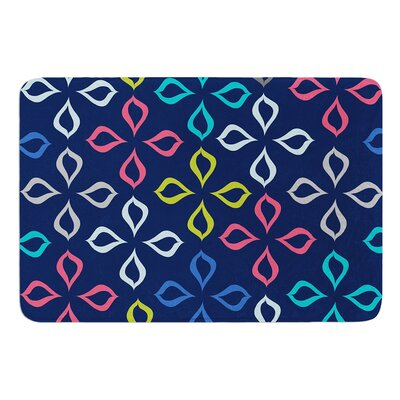Simple Flower by Jolene Heckman Bath Mat Size: 24 W x 36 L