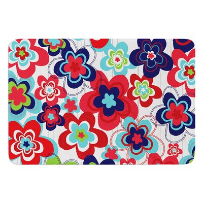 A Cheerful Morning by Jolene Heckman Bath Mat Size: 17