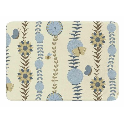 Flower Garden by Judith Loske Bath Mat