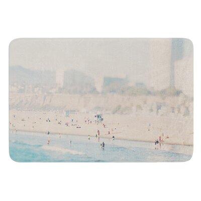 Santa Monica Beach by Laura Evans Bath Mat