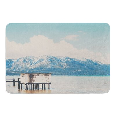 Down By The Lake by Laura Evans Bath Mat