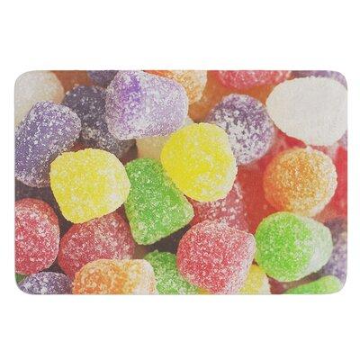 I Want Gum Drops by Libertad Leal Bath Mat
