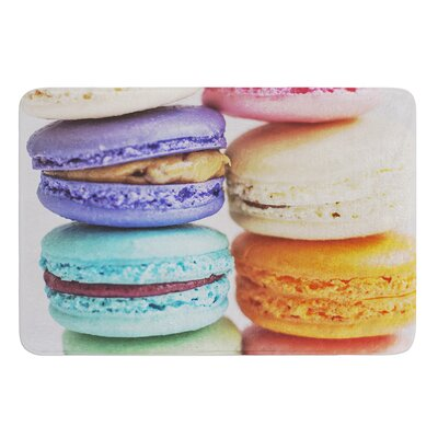 I Want Macaroons by Libertad Leal Bath Mat