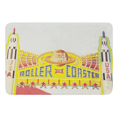 Life is a Rollercoaster by Libertad Leal Bath Mat