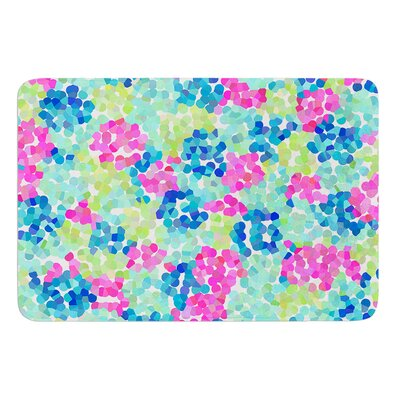 Flower Garden by Beth Engel Bath Mat Size: 17W x 24L