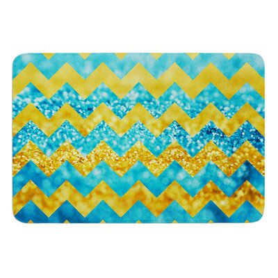 Blueberry Twist by Beth Engel Bath Mat Size: 17W x 24L