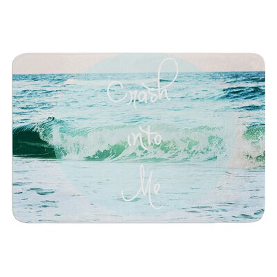 Crash Into Me by Beth Engel Bath Mat Size: 17W x 24L
