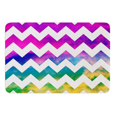 Lucky Chevron Bath MatLucky Chevron by Beth Engel Bath Mat Size: 17W x 24L