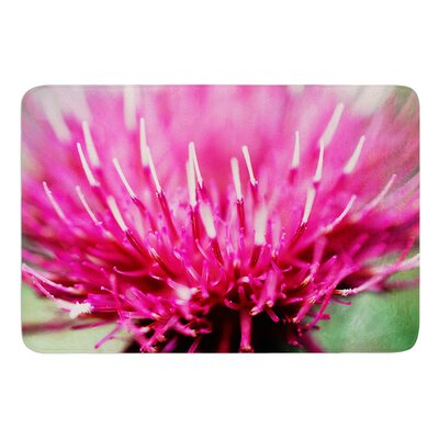 Frosted Tips by Beth Engel Bath Mat Size: 24