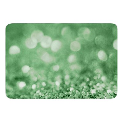 Lucky Shamrock by Beth Engel Bath Mat Size: 24 W x 36 L