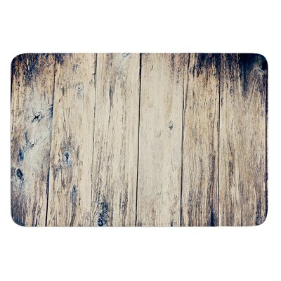 Wood Photography II by Beth Engel Bath Mat Size: 24 W x 36 L