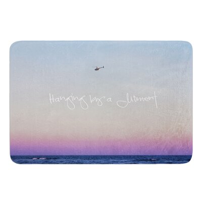 Hanging By A Moment by Beth Engel Bath Mat Size: 24 W x 36 L