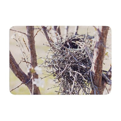 Nest by Catherine McDonald Bath Mat Size: 24 W x 36 L