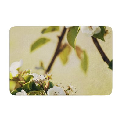 Pear Blossom by Catherine McDonald Bath Mat Size: 17W x 24 L