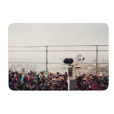 The View Seoul by Catherine McDonald Bath Mat Size: 17W x 24 L