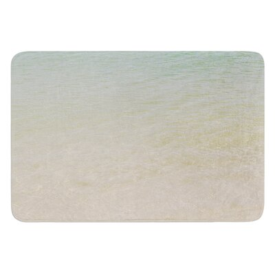 Ombre Sea by Catherine McDonald Bath Mat Size: 17W x 24 L