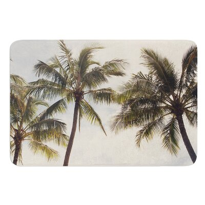 Boho Palms by Catherine McDonald Bath Mat Size: 17W x 24 L