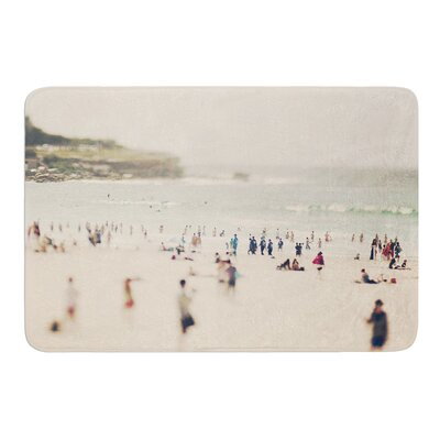 Bondi Beach by Catherine McDonald Bath Mat Size: 17W x 24 L