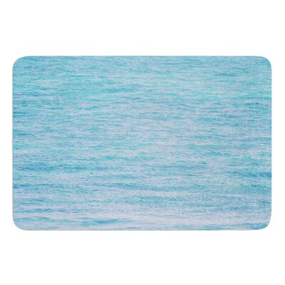 South Pacific II by Catherine McDonald Bath Mat Size: 24 W x 36 L