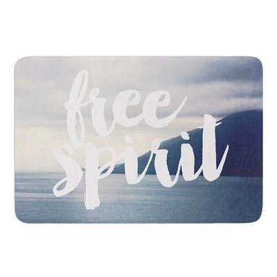 Free Spirit by Catherine McDonald Bath Mat Size: 17W x 24 L