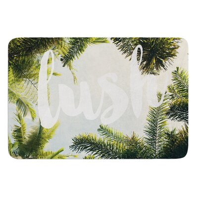 Lush by Catherine McDonald Bath Mat Size: 24 W x 36 L
