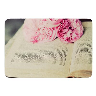 A Good Read by Cristina Mitchell Bath Mat Size: 17W x 24 L