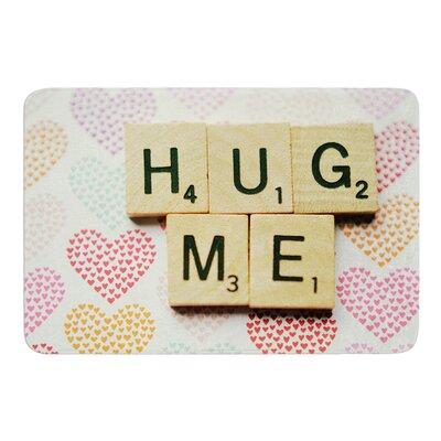 Hug Me by Cristina Mitchell Bath Mat Size: 24 W x 36 L