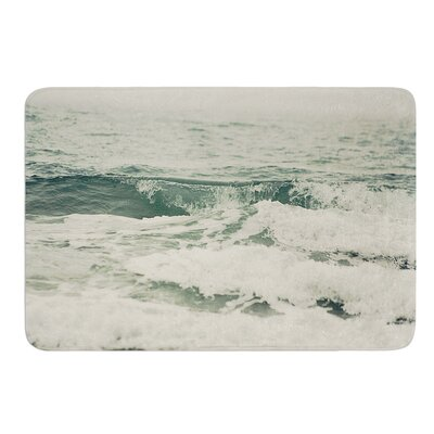 Crashing Waves by Cristina Mitchell Bath Mat Size: 17W x 24 L