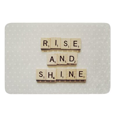 Rise and Shine by Cristina Mitchell Bath Mat Size: 17W x 24 L