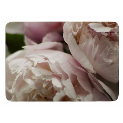 Peonies by Cristina Mitchell Bath Mat