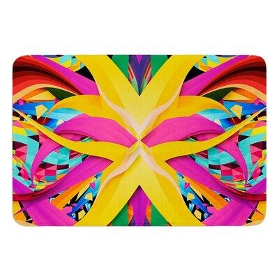 Tropical Fun by Danny Ivan Bath Mat Size: 17W x 24L