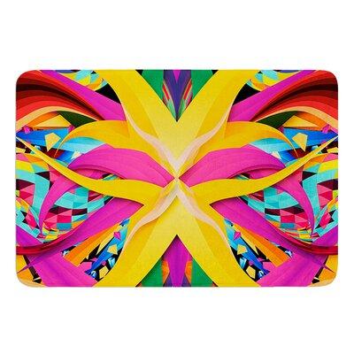 Tropical Fun by Danny Ivan Bath Mat Size: 24 W x 36 L