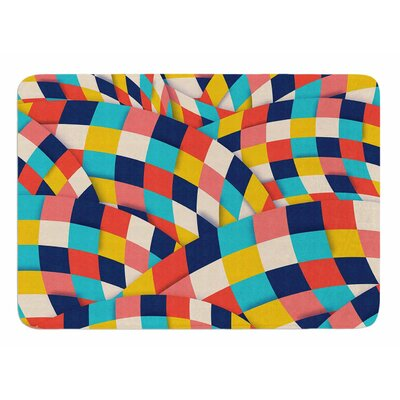 Curved Squares by Danny Ivan Bath Mat